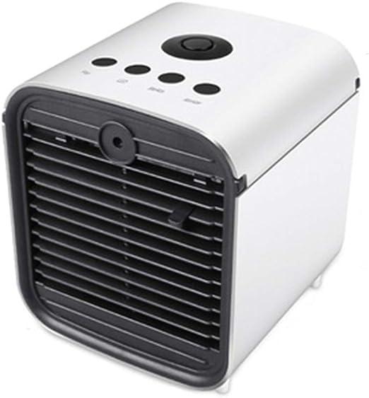 Ventilador de enfriamiento Agua de enfriamiento más Hielo Refrigerador portátil de Filtro de Aire USB pequeño: Amazon.es: Hogar