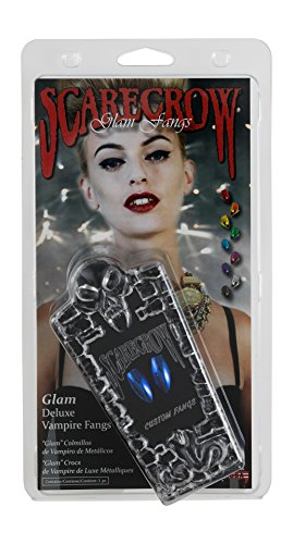 Scarecrow Classic Glam Fangs (Blue) ()