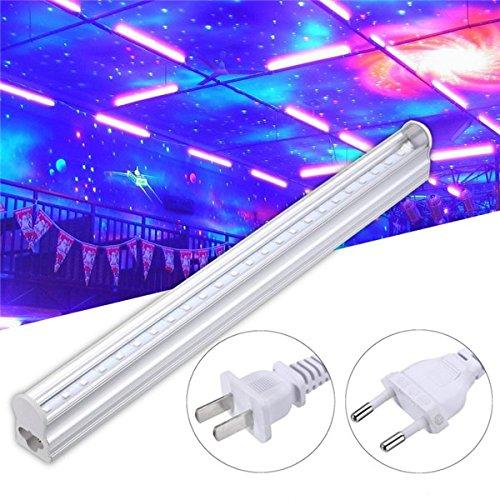 UL 5W 30CM UV LED Blacklight 395NM Stage Light for Bar Party Club DJ AC85-265V (US) by UL