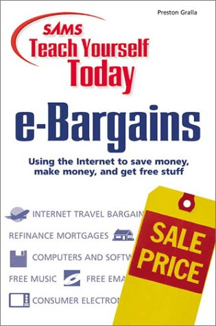 Sams Teach Yourself e-Bargains Today ebook