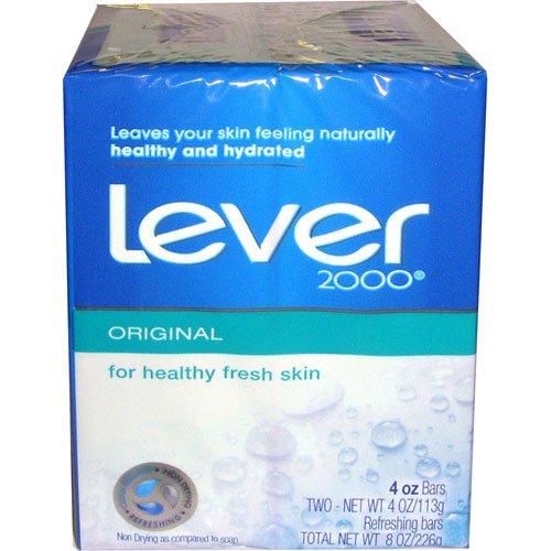 Deodorant Pack Case (Lever 2000 Original Deodorant Bar Soap - 2 per pack -- 24 packs per case.)