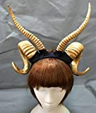 Gothic Antler Sheep Horn Hoop Headband Forest Animal Photography Manual Cosplay KC Headpieces Party Accessories Katoot