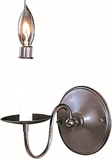 product image for Framburg 9221 SP 1-Light Jamestown Sconce, Satin Pewter