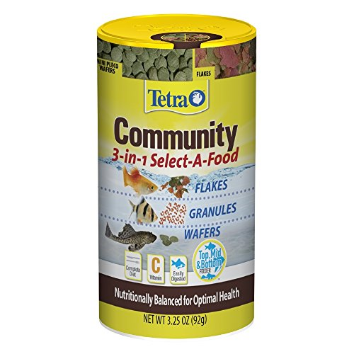 Tetra Community Select-A-Food (1 Can), 3.25 - Food Granules