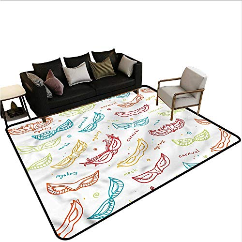 - Masquerade,Dining Table Rugs 80