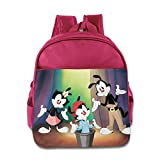 Stephen Spielberg Presents Animaniacs Kids School Bag Pink