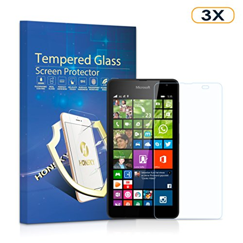 Tempered Glass Screen Protector for Nokia Lumia 535 - 5