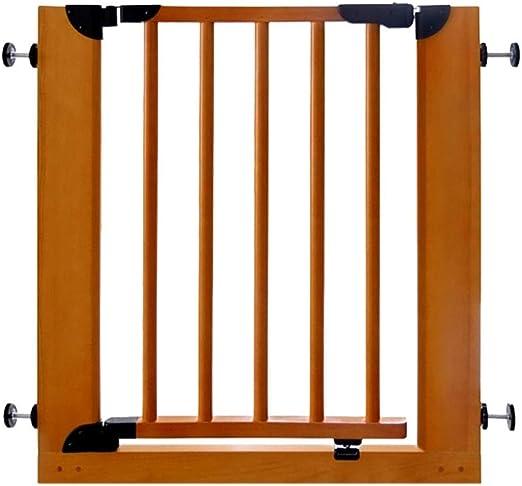 Barandilla de Cama Madera Maciza Barra de Puerta de Seguridad para niños Escalera Valla Bebé Mascota Aislamiento Puerta Valla Valla Bebé Puerta Barandilla: Amazon.es: Hogar