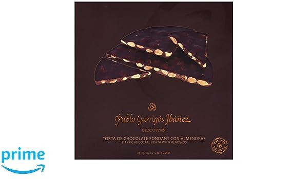 Pablo Garrigós Ibáñez Torta Turrón de Chocolate Fondant con Almendras - 3 Paquetes de 200 gr - Total: 600 gr: Amazon.es: Alimentación y bebidas
