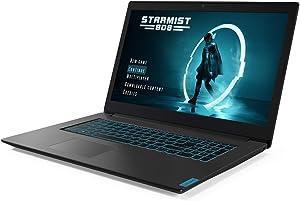 "Lenovo L340 Thin Gaming Laptop, 17.3"" IPS FHD, Intel Core i7-9750H 6-Core up to 4.50 GHz, GTX 1650 4GB, 1TB SSD, 16GB RAM, Backlit, RJ-45 LAN, HDMI 2.0, USB-C, Webcam, Win 10"