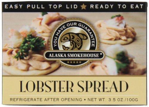 - Alaska Smokehouse Lobster Spread 3.25 Ounce Box