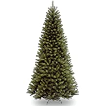National Tree 9 Foot North Valley Spruce Tree, Hinged (NRV7-500-90)