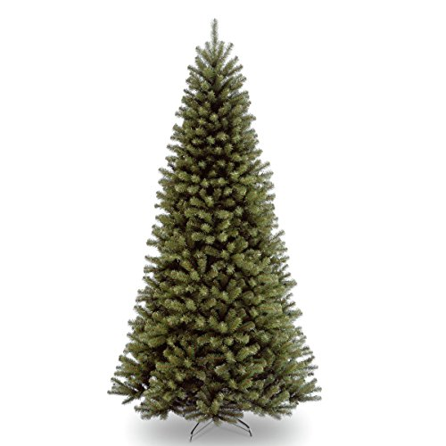 National Tree 9 Foot North Valley Spruce Tree, Hinged (NRV7-500-90) by National Tree Company