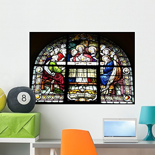 Wallmonkeys Last Supper Wall Decal Peel and Stick Graphic WM204102 (36 in W x 25 in ()
