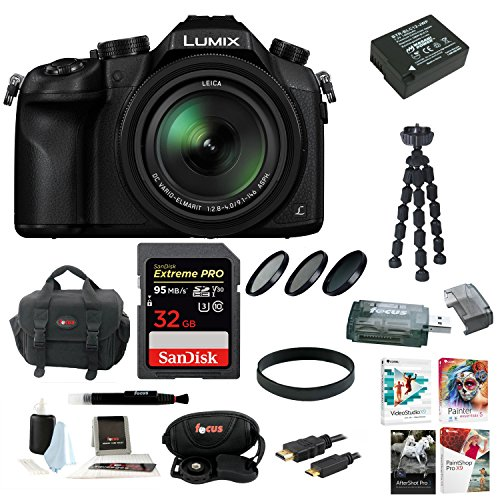 Panasonic LUMIX DMC-FZ1000 16X Long Zoom Digital Camera  wit