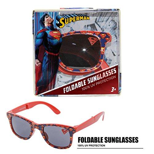 76fa706e818 DC Comics Superman Foldable Kids Children Boys Sunglasses with 100% UV  Protection UV Shielding Sunglasses