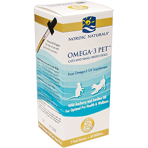 Nordic Naturals Nordic Naturals Fischöl Omega-3 Essentielle Fettsäuren Für Hunde Und Katzen 59 Ml