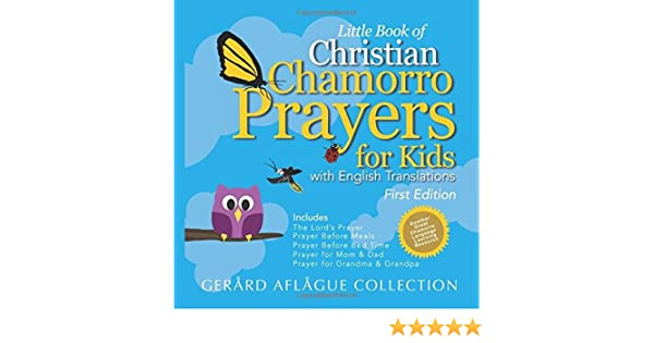 Little Book of Christian Chamorro Prayers for Kids: With