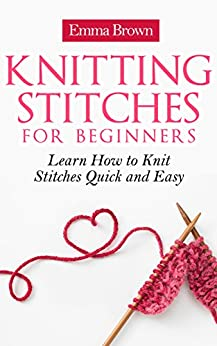 Knitting Stitches Learn Quick Patterns ebook product image