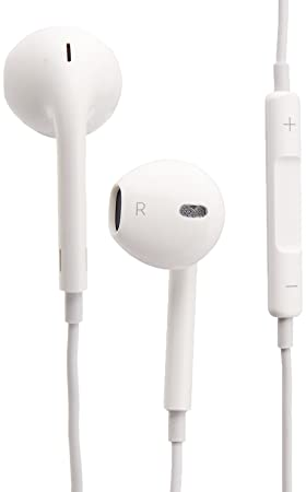 apple earpods. apple earpods with remote and mic headphones headset md827zm/b iphone 5 / 5c earpods