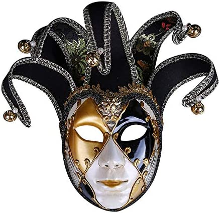 Peanutaso Máscara de Bola de Halloween Pintada Exclusiva Máscara ...