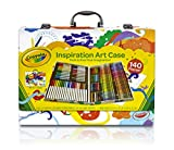 Crayola Inspiration Art Case: 140 Pieces, Art Set, Gifts for Kids, Age 4, 5, 6,