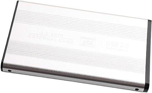 外付けハードディスク 2TB/1TB/500GB 2.5インチ SATA HDDケース ポータブル - 2T