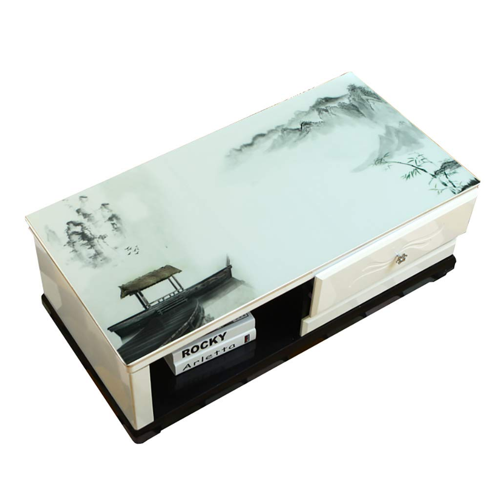 Hongsebuyi Tischdecke PVC Transparent Weichplastik Tischdecke Antifouling Anti-Verbrühung Tee Tischdecke Kaffee Tischdecke Dicke 1,5 MM (größe   90×140CM) B07M9YQX4H Tischdecken Erste in seiner Klasse     | Spielen Sie Leidenschaft,