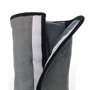 Malloom® 2015 nuevo Asiento de coche cinturón hombro cojín reposacabezas almohada para dormir para niños almohada cervical (gris (grey))