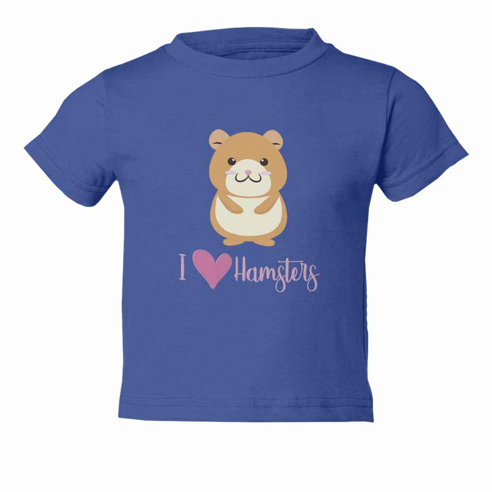 Little Hamster Cute Pet Love Hamsters Graphic Youth /& Toddler Tee Shirt