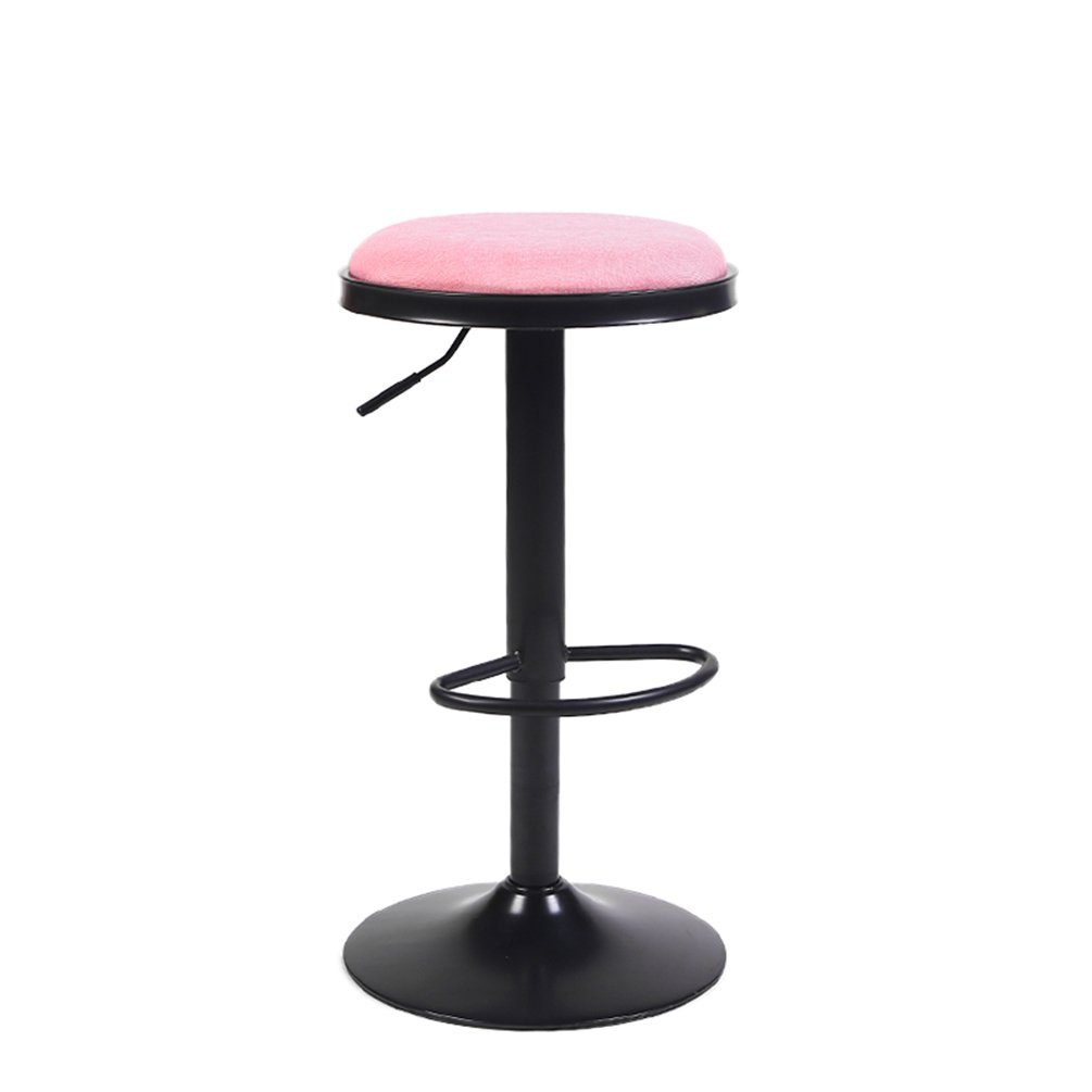 IAIZI レトロカフェバーカウンタークラブレジャーチェアレジャーチェア美容椅子の高さ62-82cm (色 : E) B07DJ3BL68 E E