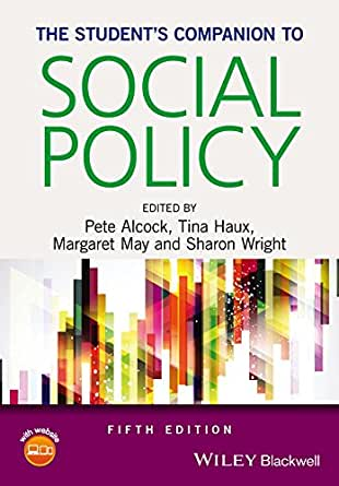 The Student's Companion to Social Policy - Kindle edition