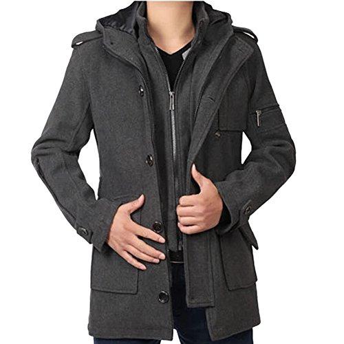 Double Breast Wool Jacket - 8
