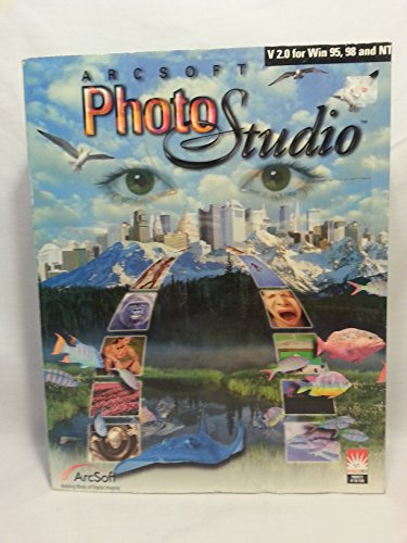 Arcsoft Photo Studio Software 2.0 for Win 95, 98 & NT (Software Photo Imaging)