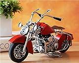Retro metal motorcycle home accessories living room TV cabinet wine cooler display window props TA122724