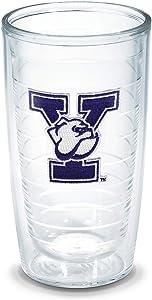 Tervis Yale University Emblem Individual Tumbler, 16 oz, Clear -