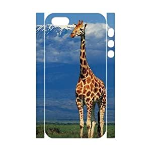 Brand New Durable 3D Case for Iphone 5,5S with Giraffe shsu_7636532 at SHSHU