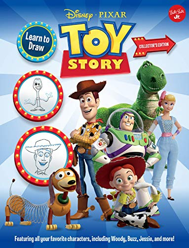 Slinky Collector (Learn to Draw Disney/Pixar Toy Story Collector's Edition: Featuring all your favorite characters, including Woody, Buzz, Jessie, and more! (Licensed Learn to Draw))