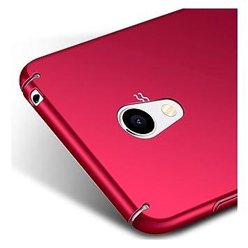 Rojo PC Plástico Funda Case Cover + Protector de Pantalla Para ...