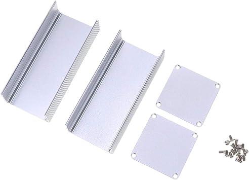 Gazechimp 1.81x1.81x3.94 Caja De PCB Electrónica De Aluminio ...
