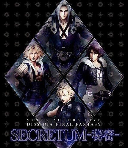 Blu-ray : FINAL FANTASY - Voice Actors Live Dissidia Final Fantasy Secretum (himitsu) (originalsoundtrack) (Japan - Import)