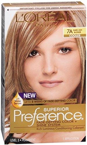 L'Oreal Superior Preference - 7A Dark Ash Blonde (Cooler)...