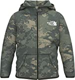 The North Face Infant Glacier Full Zip Hoodie, New Taupe Green Tonal Cloud Camo Print, 6-12 Months