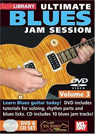 Lick Library: Ultimate Blues Jam Session Volume 3. Para Guitarra ...