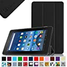 "Fintie Fire 7 2015 Slim Shell Case - Ultra Slim Lightweight Standing Cover for Amazon Fire 7 Tablet (will only fit Fire 7"" Display 5th Generation - 2015 release), Black"