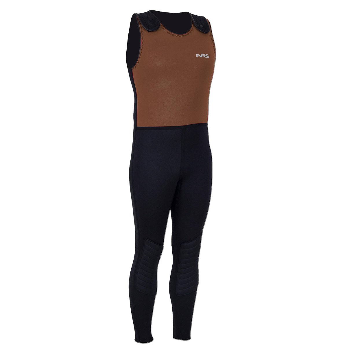 NRS Farmer Bill Neoprene Wetsuit-Black/Brown-4XL by NRS