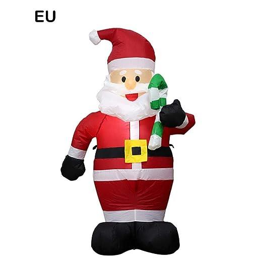 Precauti Inflable Papá Noel Navidad Inflable Ilumina Patio ...