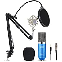 TONOR Pro Condenser PC Microphone Kit with 3.5mm XLR Mic...