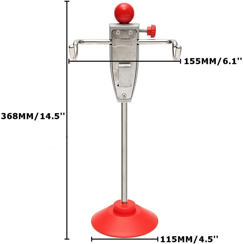 AVEMORE4U18 Car 14.5//368mm Steering Wheel Holder Stand Tool Wheel Alignment Essential Tool