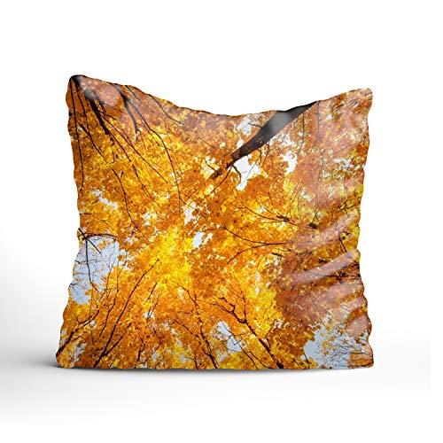 Sophia Emma Custom Pillow Case Personalized Throw Pillowcase Glitter Forest Decorative Cushion Cover Pillowcase 24 × ()